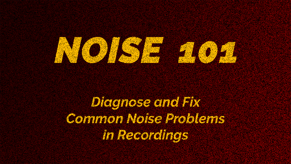 Noise 101 - eLearning course cover design