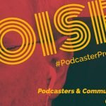 Podcaster Problems: Noise. In this case, it's not technical. Noise interferes with communication.