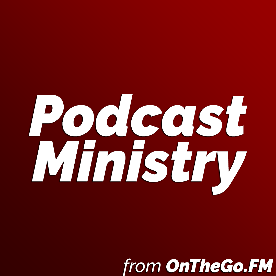 Podcast Ministry from OnTheGo.FM logo